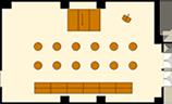 立食スタイルのレイアウトイメージ