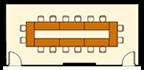 口の字スタイルのレイアウトイメージ