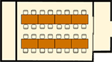 ディナー(円卓)スタイルのレイアウトイメージ