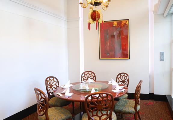 中国料理 マンダリンキャップ テーブルイメージ