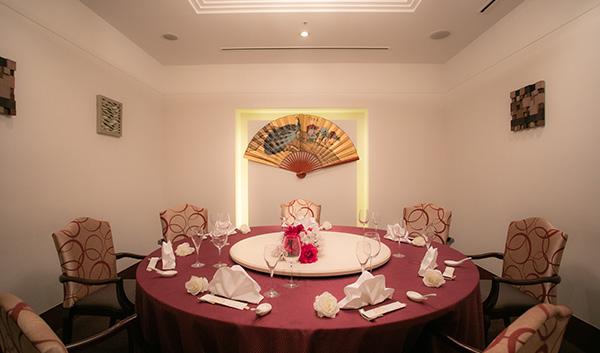 中国料理 マンダリンキャップ 個室 内観の画像